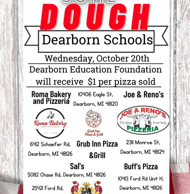 Help Support Dearborn Education Foundation!